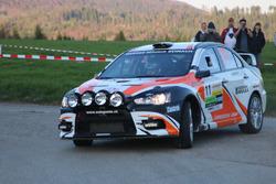 Ruedi Schmidlin, Erich Götte, Mitsubishi Lancer Evo X R4, Ecurie Basilisk