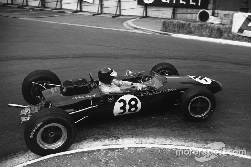 Mesmo estando na F1, Rindt correu simultaneamente em outras categorias, como a Fórmula 2.