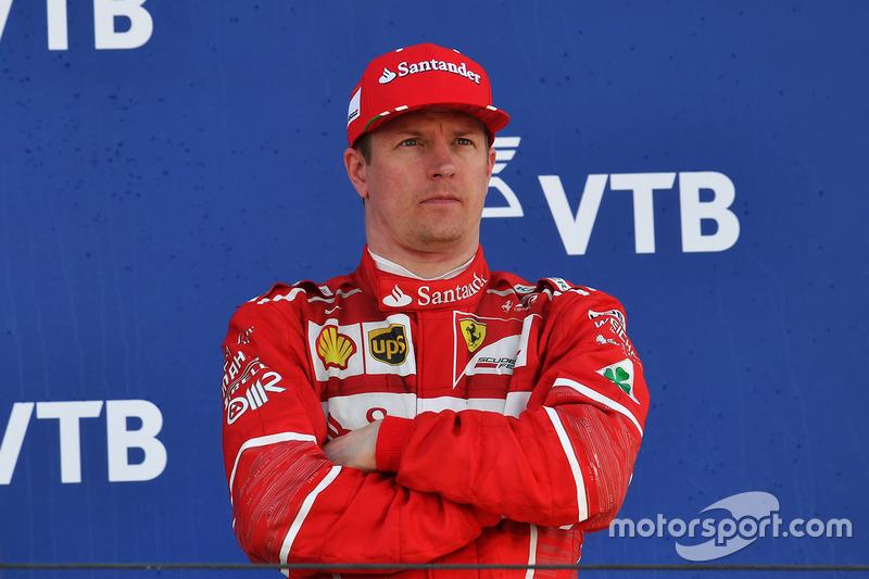 3. Кими Райкконен, Ferrari