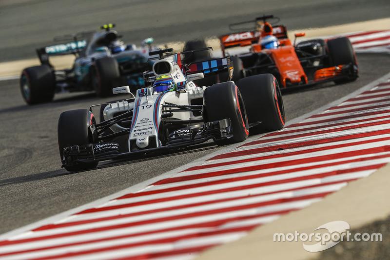 Felipe Massa, Fernando Alonso, Valtteri Bottas