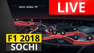 LIVE RACE Grand Prix Rusia | F1 2018