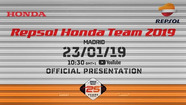 Launching Repsol Honda 2019 | Video MotoGP