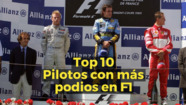 Motorsport Stories: Top10 pilotos con más podios en F1