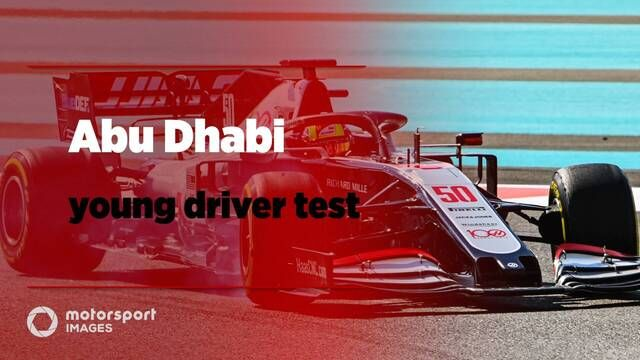 Abu Dhabi's young driver F1 test
