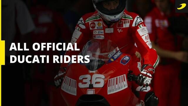 All Ducati Corse riders