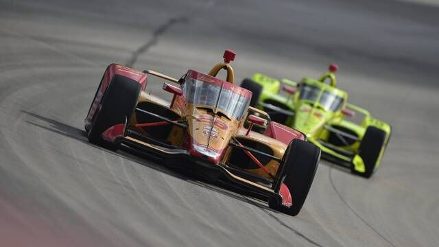 IndyCar: Drivers Test at Texas Motor Speedway
