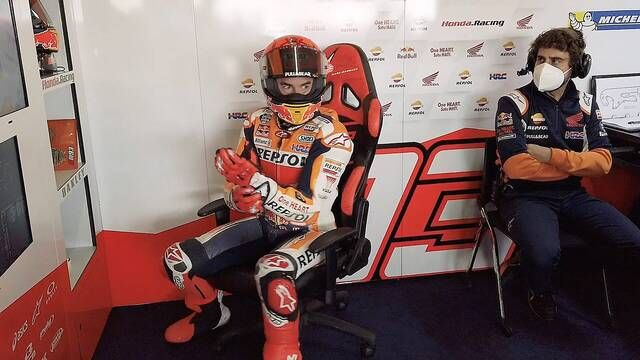 Marc Marquez is back