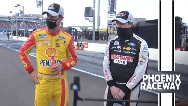 Penske teammates Keselowski and Logano reflect on coming up short