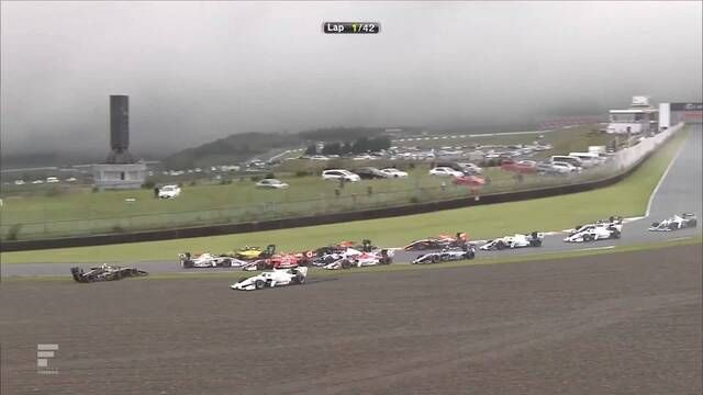 Super Formula: Autopolis - Race start