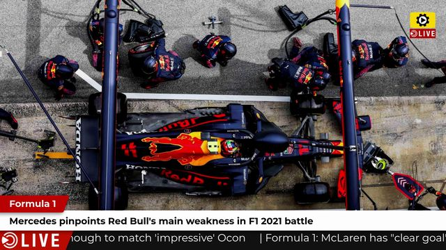 F1: Mercedes pinpoints Red Bull's main weakness in F1 2021 battle