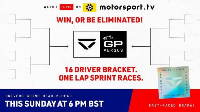 LIVE: Not The GP 'Versus' by Veloce Esports in Partnership with Motorsport Games