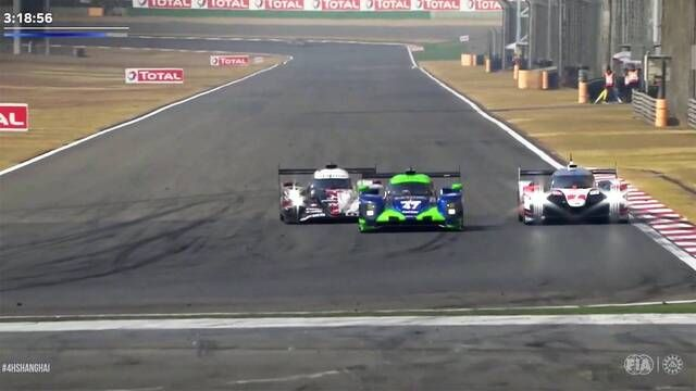 FIA WEC: 4 Hours of Shanghai - Rebellion and Toyota battle for the lead