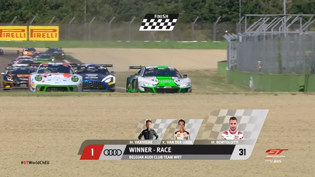 GT World Challenge Europe: Imola - Race finish