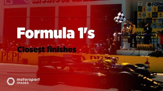 Grand Prix Greats – De dichtste finishes in de F1