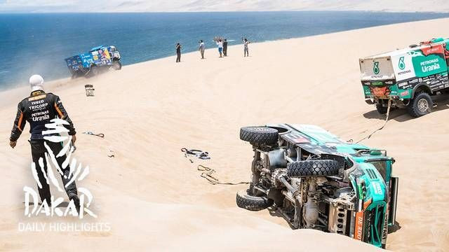 Dakar 2019: 8. Etappe, Highlights Trucks