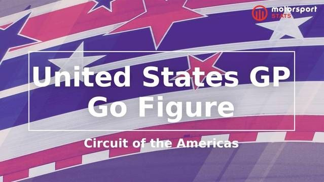 Go Figure: Formula 1 - United States GP, Circuit of the Americas