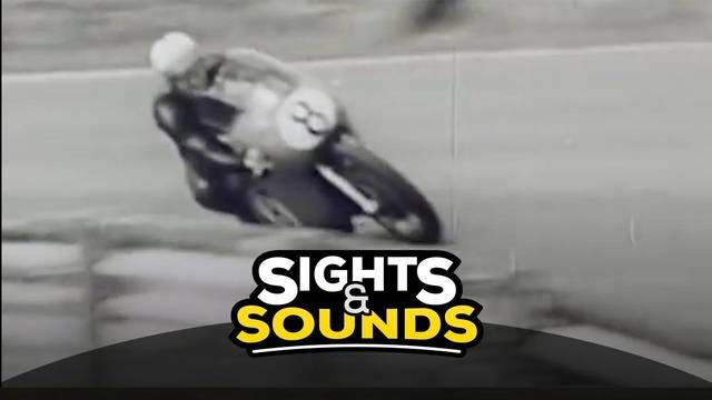 Sights & Sounds: Mike Hailwood vliegt over Spa-Francorchamps