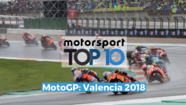 Top10 MotoGP GP de Valencia 2018