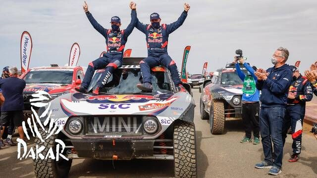 Dakar 2021: Stage 12 Highlights - Cars