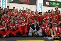 Schumacher makes history