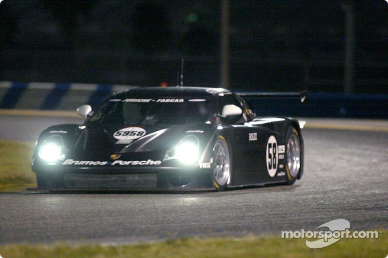 Brumos Porsche shakes down new prototype