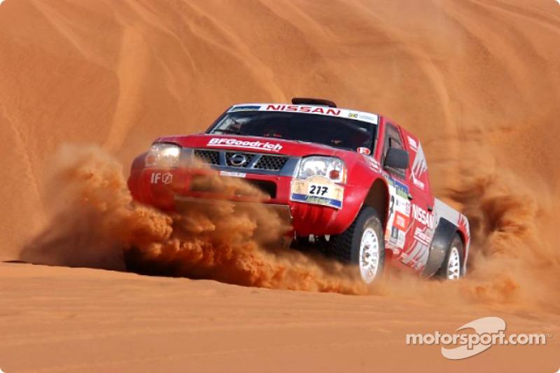 Dakar: Nissan stage seven report
