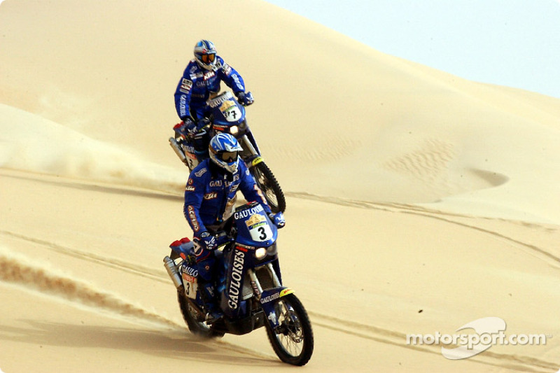 Dakar: Gauloises Racing stage 12 report