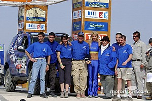 Dakar Dakar: Gauloises Racing final report