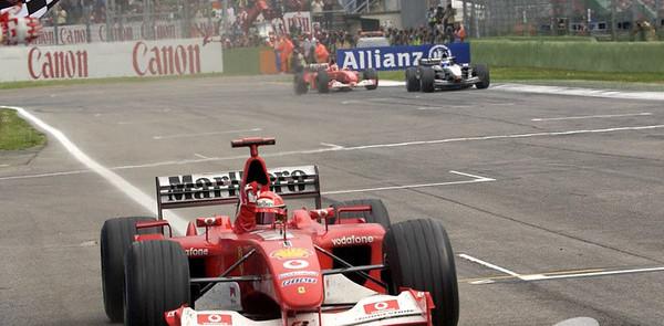 Schumacher takes San Marino GP Ferrari home win