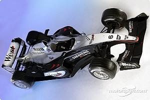 Formula 1 Introducing the McLaren MP4-18