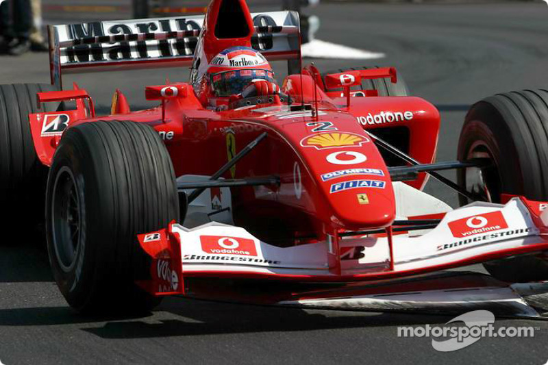 Barrichello asking questions in testing