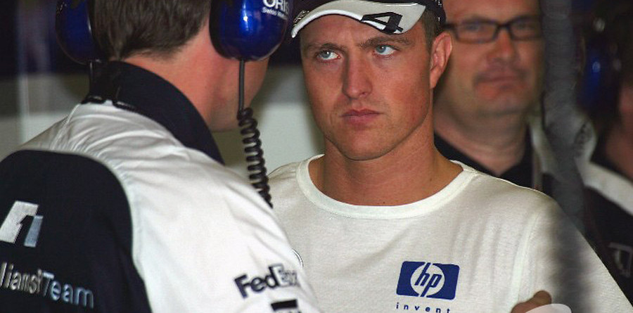 Ralf not annoyed by engine failure
