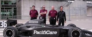 IndyCar IRL: Junqueira returns to Indy with Newman/Haas Racing