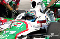 IPS: IRL: Kanaan, Dana top practice before Michigan rain