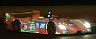 Le Mans McNish accident allows Pescarolo past