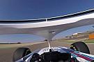 VÍDEO: Veja da visão de Kubica teste com novo Williams