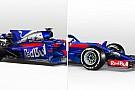 Как изменилась машина Toro Rosso: наглядная эволюция
