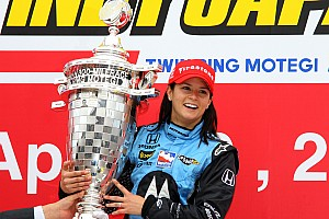 IndyCar Contenu spécial Vidéo - La victoire de Danica Patrick à Motegi en 2008
