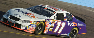 NASCAR Cup Hamlin lands Phoenix pole