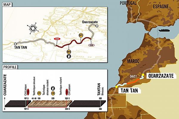 Dakar: Stage 5 Ouarzazate to Tan Tan notes