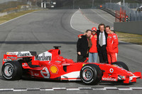 Ferrari launches the 248 F1 at Mugello