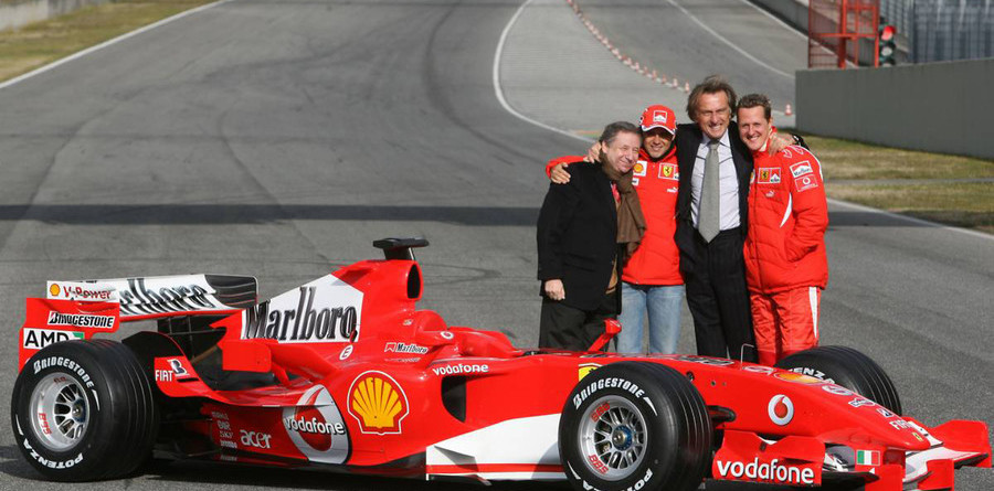 Ferrari launches the 248 F1 at Mugello