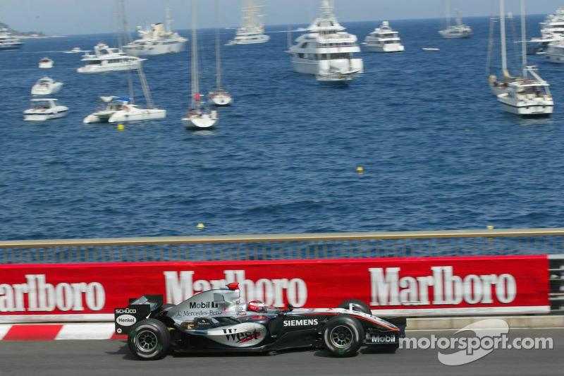 A lap of Monaco with Raikkonen