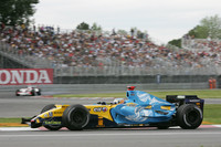 Renault quickest in Canadian GP last practice