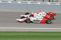 IRL: Hornish hangs on to win in Kansas