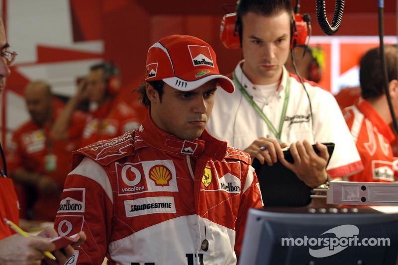Ferrari drivers meet the Suzuka press