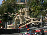 Alonso wins teammate battle for Monaco GP pole
