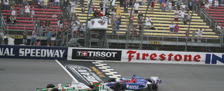 IndyCar IRL: Kanaan wins dramatic Michigan race