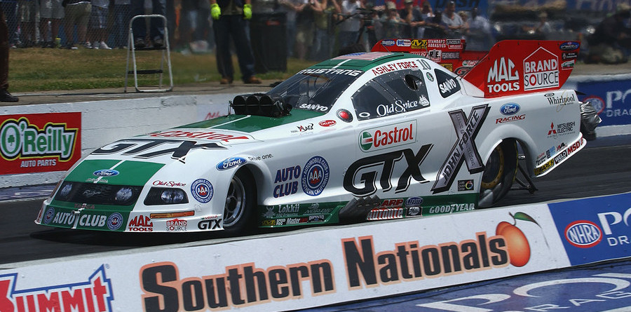 Ashley Force makes Funny Car history in Atlanta