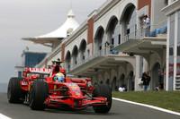 Ferraris top Friday practice in Turkey